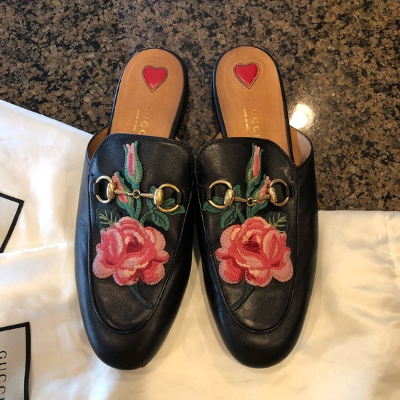 0224e6289c4 Gucci Shoes - GUCCI Princetown leather slippers